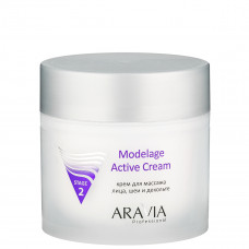 Крем для массажа Modelage Active Cream, 300 мл, ARAVIA Professional